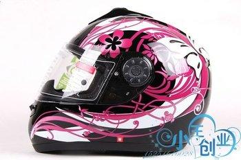 Freeshipping BCM001# BEON B-500 Classic Full Face Helmet Winter Helmet Racing Helmet International Version Motorcycle HelmetsN12