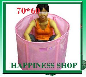 Wholesale&Retail Folding Inflatable Bathtub Portable bath tub Spa Tub 70*60 EMS Fast Shipping(China (Mainland))