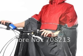 Cycling Bicycle Bike Unisex Raincoat Rain Cape ,free shipipng