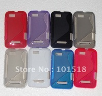 100pcs/lot Free shipping New  S Line TPU Silicone Gel case for Motorola Defy Mini XT320