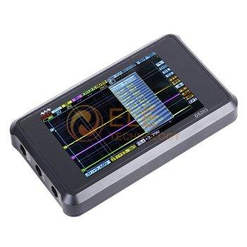 Nano DSO203 4 tracks 2 Analog 2 Digital 72MS/S Pocket Size Digital Oscilloscope