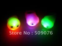 Free shipping 180pcs/lot  3*3*4cm TPR led flashing ring  eye ring