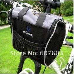 2013 New Cycling Bicycle handlebar bag Bike front basket(China (Mainland))