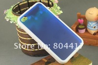 Free Shipping 100% New 5 pieces Hard case shell Back skin cover for iphone4 4s 4G wholesale and retail