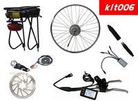 Good Market Electric bike conversion kit E bike kits with new LiFePo4 battery with Indicator Disc Brake- Kit006