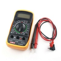 Free Shipping New LCD Digital Multimeter Volt Ohm Meter Tester Tool 830L WholeSale E01020132