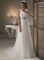 Sexy one shoulder A-Line wedding dress 2012 Unique
