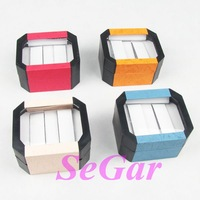 Free Shipping 4 High Quality Plastic Watch Box For 2 Pcs Mixed Color TVI-RYB-86