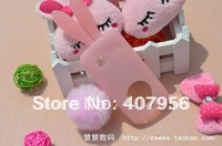 Free shipping! For Nokia C5-03 Rabbit silicone cartoon  case 1pcs min order