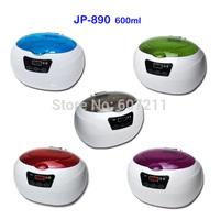 Freeshipping! beauty ultrasound cleaning machine JP-890 600ml bath sonicator
