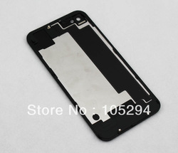 10pcs/lot For iPhone 4S Compatible Battery Door Back Cover Rear Glass Frame Housing(China (Mainland))