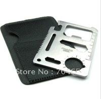 Multipurpose 11 Function Card Knife, Pocket Survival Tool,Outdoor Survival Multifunction knife