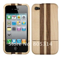 Real Genuine Natural Wood Wooden Case for iphone 4s 4g
