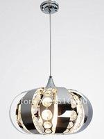 FASHION REFLECT LIGHT  STAINLESS STEEL TWINKLE CRYSTAL PENDANT LAMP  RESTAURANT LIGHT