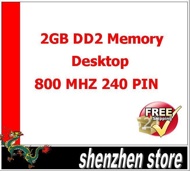 Оперативная память для ПК 2 ddr2 800 Pc6400 5pcs оперативная память kvr400x64c3a 256