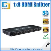 HDMI Splitter 1x8 HDMI Splitter 1*8,Support 3D 1080P with CE FCC