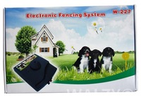 Free Shipping ** 5pcs/lot ** waterproff Smart Pet dog in-ground Electronic Fence System-2 dogs