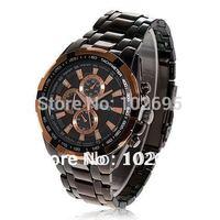 2014NEW arrival curren Fashion watch Stylish Black Dial White Case Alloy Quartz Wristwatch for Men  watch sports watches