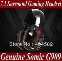 hot ! 7.1 Surround Gaming Headset Stereo Headphone Powerful Bass Earphone with Mic USB 7.1 Headphone PC Game MMO WOW RAZER CS