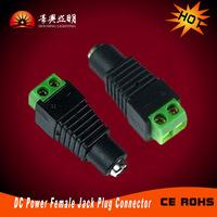 Female Jack Plug Connector 2.1mm For CCTV Cameras And Led Strip Light