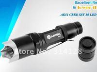 ANOWL AK51 Cree SST-50 LED FLASHLIGHT SINGLE MODE 1X18650/2X16340 BATTERY 1300LM CREE LED FLASHLIGHT