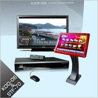 FREE SHIPPING Professional Hard DriveTouch Screen Karaoke Player