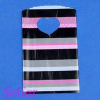 Free Shipping 500 High Quality Plastic Retail Gift Shopping Bags 15X9cm XA0915-18
