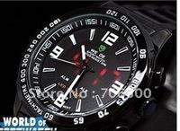 Original authentic Granville  men's watch, fashion watch, sport diving watch, tungsten steel double display black,free shipping!