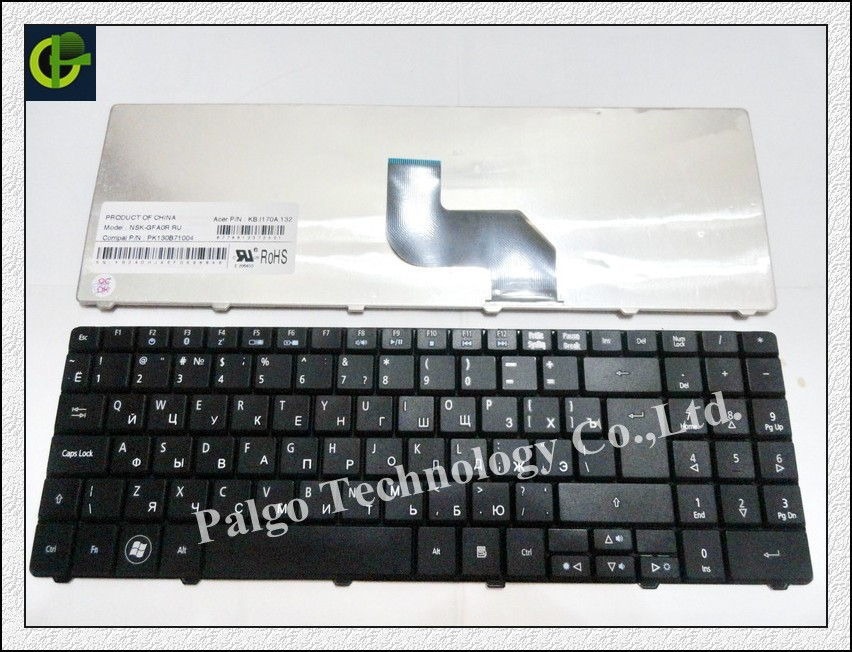 Russian keyboard for Acer Aspire 5516 5517 Emachines E430 E628 E630 E637 E525 E625 E627 E725 RU Black laptop keyboard(China (Mainland))