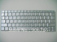 The new silver keyboard  V091978CS1  FOR SONY VAIO VPC-M12 AR version