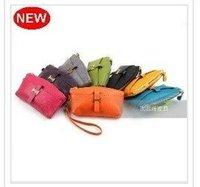NEW dumpling shape GENUINE LEATHER evening bag,clutch/wristlet bag w/ strap,purse gift,A2