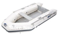 free DHL shipping JiLong Z-ray II 400 pvc air boat for 4 persons, inflatable sports boat with motor rack and aluminum board