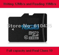 Micro sd card 16GB full capacity and real Class 10 writing 12Mb/s and reading 19Mb/s for Car GPS, DVR,tablet pc, mobile phone