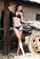 On sale,  fashion swimwear, sexy blue bikini with cup, size S/M/L,LXB112