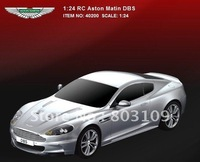 Wholesale rastar 1:24 radio remote control cars for Aston Matin DBS 1/24 20cm rc car model 40200 toys