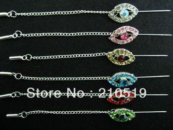 YAP003 Free shipping Fashion muslim scarf brooches pins