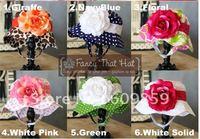 mixed hot 24/lots designs doomagic Children's UV Caps sun hats baby cotton sun Hats girls babys flowers sun hats