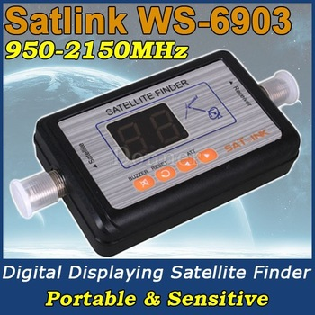 2013 New!  Satlink 6903 Digital Automatic Satellite signal Finder Meter Sat Dish LNB DirecTV #WB184