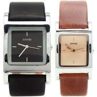 New When Chernobyl/SINOBI Stylish simplicity couple watches Male Female fashion statement Watch A pair of price-.comLynx