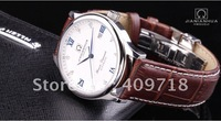 Men's  Mechanical Watch Fashion Leather Watch Guaranteed 100% Genuine designer Wristwatch waterproof  JNH060 Free shipping
