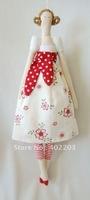 fabic decoration-fabic girl hanger-home decoration-flower girl hanger-H35cm-2designs-6pcs/lot