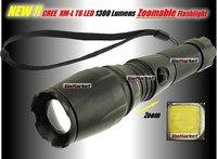 Free shipping,  New model UniqueFire UF-V11 CREE XML T6 1300 Lumens 5-Mode Led Flashlight Torch