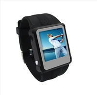 "promotion price 1.5"" watch MP4, fashionable wrist watch with MP4 function,MP4+MP3+USB drive+watch, Best choice as gifts 2GB"