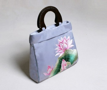 $10 off per $100 order 2012 New Floral Ethnic Look China fun national casual classical Handbag tote bag handcraft embroidery