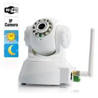 Surveillance IP Camera Webcam CCD Support Angle Control + Motion Detection + Night Vision