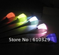 Free shipping EMS wholesales 4pcs/lot ABS solar lamp for garden led wall Tulip lights outdoor Decorative lighting LED control
