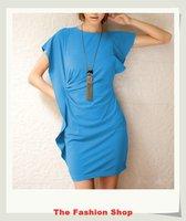 FREE SHIPPING 2014 New Sexy Women Summer Casual Dress Size M OKC2201-2