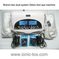 Ion Cleanse Detox Foot SPA Machine WTH-205-B with Dual System and Dual Display  2Units/lot