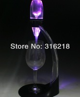 colorful LED simple device magic wine decanter/ essential wine aerator&tower/wine pourers +free EMS shipping