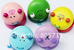 Wholesale Cartoon Animals Castanets Pigs cats rats frog lion Wooden Sound Board Baby Kids Toy Preschool Toys Free Shipping(China (Mainland))